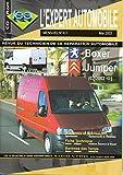 revue technique l expert automobile n? 417 peugeot boxer citroen jumper depuis 02 2002 essence 2 0 i diesel 2 0 2 2 2 8 hdi
