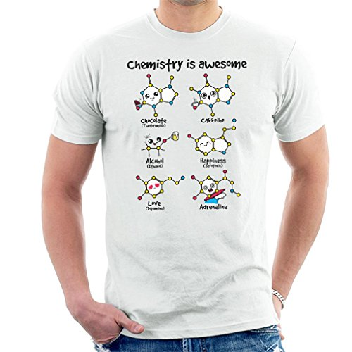 Chemistry is Awesome Cells Men's T-Shirt -