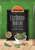 Ostmann Lorbeerblätter ganz Lorbeer-Blatt zum Fleisch einlegen Extra-Gewürz für Marinaden, für Suppen, Eintöpfe und Braten, getrocknet, Menge: 5 Stück x 11 g