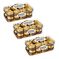 Combo Pack Ferrero Rocher Chocolate 16 Pieces (Pack of 3)