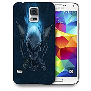 Snoogg Pencil Skull Designer Protective Back Case Cover For SAMSUNG GALAXY S5