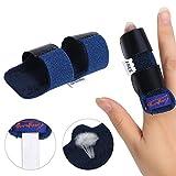 Semme verstellbar Fingerschiene Brace, Finger Tendon Release & Schmerzlinderung beheben Gürtel mit integrierter Aluminium Unterstützung