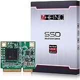 Zheino Half Size mSATA 128gb SSD Tamaño medio mSATA SSD Half Msata Disco Duro Mini mSATA 3 SSD Unidad de Estado Sólido Para el Ordenador Portátil Mini PC Mini Laptop 26.8mm (L) * 30.1mm (W) * 3,5 mm (H)