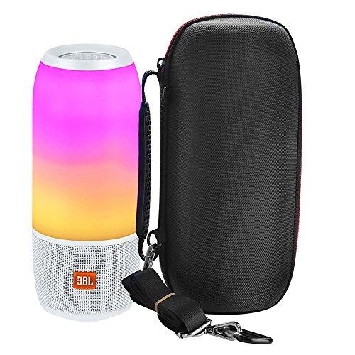 Zhuhaixmy (Schwarz)Nylon Hart Reise Tasche Für JBL pulse 3 Bluetooth-Lautsprecher,Multifunktion Tragbar Harte Case Hülle Reise Tasche Box für JBL pulse 3 Bluetooth-Lautsprecher