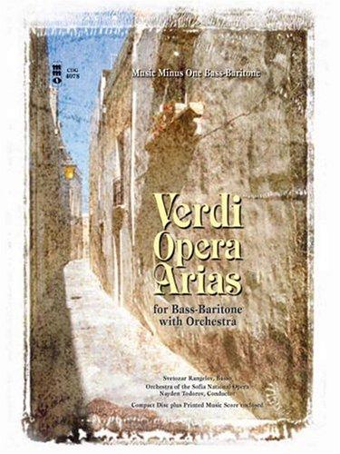 Verdi - Bass-Baritone Arias with Orchestra (Music Minus One)