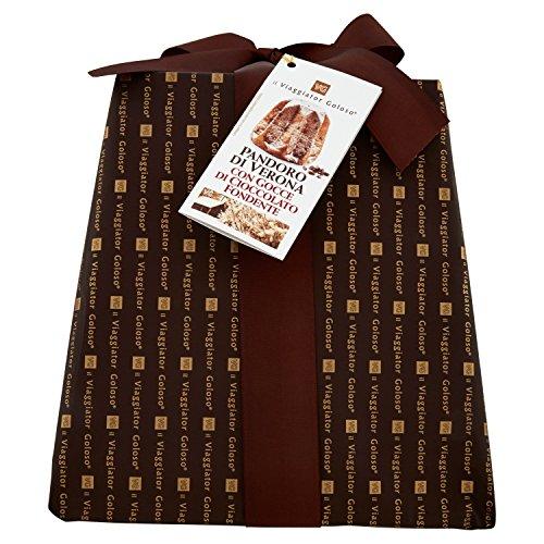 Viaggiator goloso pandoro di verona con gocce di cioccolato fondente - 1000 g