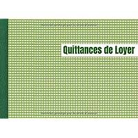 """Quittances de Loyer: Carnet à souche """"Quittance de loyer"""" - 50 feuillets - Format Horizontal de la Quittance. Convient…"""