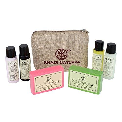 Khadi Natural Herbal Mini All Purpose Travel Kit (Domestic)