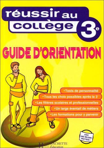 Guide d'orientation 3ème