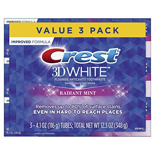 Pasta dientes blanqueadora menta Crest 3D White Radiant