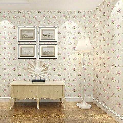 Vanme Pvc Autoadhesivo Impermeable Tapiz Floral Jardín Cálido Mobiliario Dormitorio Salón Dormitorio Renovado Papel