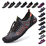 SCIEU Mens Womens Water Shoes Quick Dry Barefoot Aqua Shoes for Swim Surfing
