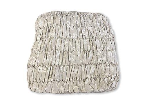 BIANCHERIAWEB Copridivano Angolare Universale Arricciato Cuore Bianco Angolare Cuore Bianco