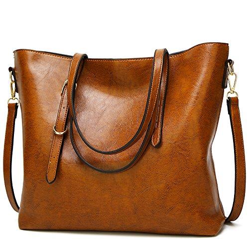 TcIFE Damen Handtaschen Umhängetasche Taschen Handtasche Shopper (Damen Taschen Handarbeit)