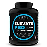 #4: Sinew Nutrition Elevate Pro Lean Muscle Mass Gainer Protein Powder with Digestive Enzymes - 2 kg (Strawberry)
