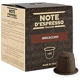 Note D'Espresso Preparato Solubile per Bevanda al Gusto di Mocaccino - 172 g (40 x 4.3 g) Esclusivamente Compatibili con le macchine per caffè a capsule Nespresso*