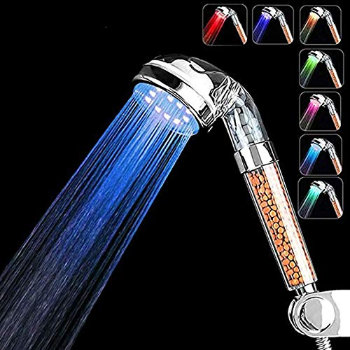 Strict Fashion Design Shower Novel Wonderful Bathing Feeling Colorful Rainbow Led Glow Light 1pc Hand Held Shower High Standard In Quality And Hygiene Bathroom Fixtures