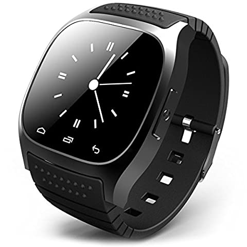 Smartwatch r-watch bluetooth pour samsung galaxy, sony xperia, nokia lumia,