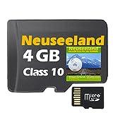 ?Neuseeland Topo Karte 10m H�henlinien 4GB microSD f�r Garmin Navi, PC & MAC? ORIGINAL von STILTEC � Bild