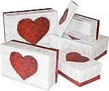 HEKU 792-41 Geschenkbox 5erSet Geschenkkarton 20x28 Kartonage