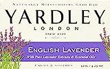 Yardley London Moisturizing Bar English Lavender with Essential Oils 4.25 oz