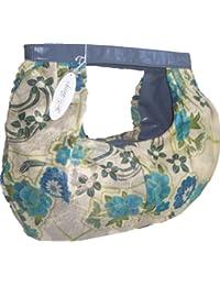 JelliBags Sommertasche mit Blumenmuster 52x47cm