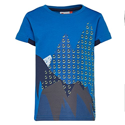 LEGO Wear Baby - Jungen T-Shirt Duplo Boy Tyler 606 - Sportliches Leuchtet im Dunkeln, Blau (Blue 541), 98 - Leuchtet Nur T-shirts