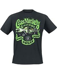 Gas Monkey Garage Gasser T-Shirt Black