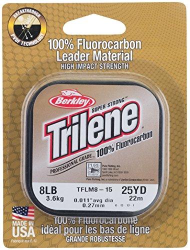 Berkley Ø 0,45mm Trilene 100% Fluorocarbon LEADER je Spule 25m