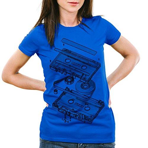 style3-dj-tape-t-shirt-da-donna-turntable-3d-mc-colorebludimensione2xl