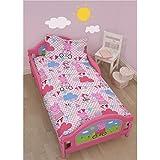 Peppa Pig Tweet 4 in 1 Junior Rotary Bedding Bundle Set (Duvet, Pillow, Covers)