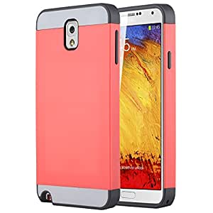 Ulak Mobile Case For Galaxy Note 3 (Pink Grey)