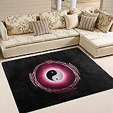 ingbags Super Soft modernen chinesischen Dragon Tai Bagua Yin Yang, ein Wohnzimmer Teppiche Teppich Schlafzimmer Teppich für Kinder Play massiv Home Decorator Boden Teppich und Teppiche 160x 121,9cm, multi, 80 x 58 Inch