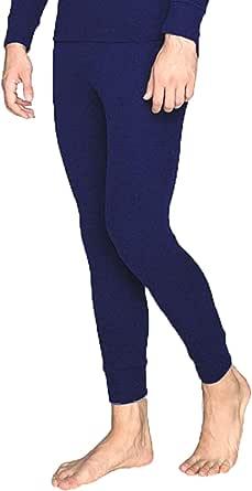 Biancheria Intima Traspirante Vita Aderente. Calzamaglia Termica Cotone Calzamaglia da Allenamento Pantaloni Termici Uomo DOUBLE M
