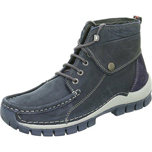Wolky Damen Stiefeletten Jump Winter Blue/Grey 4725581 Blau 351310