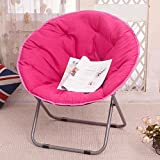 Klappbarer Lounge Sessel im Juli Großer Erwachsener Mond-Stuhl Sun Stuhl-fauler Stuhl-Radar-Stuhl-Recliner-Klappstuhl-runder Stuhl-Sofa Chair (Farbe : 9)