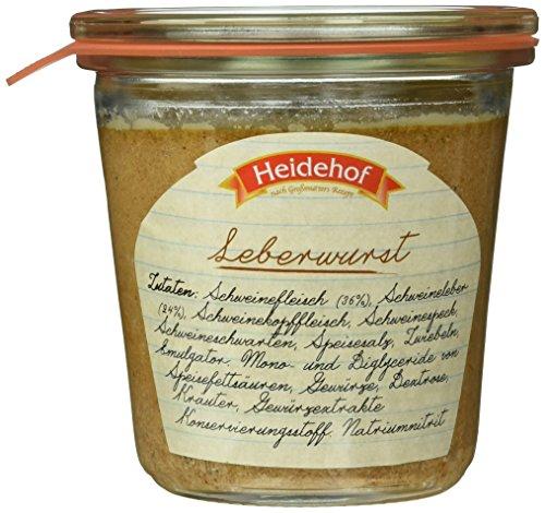 Heidehof Leberwurst im Weckglas, 200 g