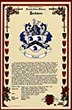 Zwack Coat of Arms, Family Crest and Name History - Celebration Scroll 11x17 Portrait - Germany Origin
