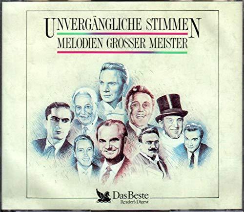 Unvergängliche Stimmen Melodien grosser Meister(1989) (Das Beste)(3 CD Packung)