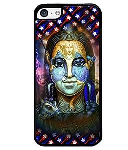 PrintVisa Metal Printed Lord Shiva Designer Back Case Cover for Apple iPhone 5C-D4673