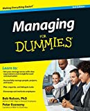 Managing For Dummies 3e