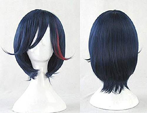 Xcoser Kostüme Kill La Kill Cosplay Wig Ryuko Matoi Perücke Partei Haar (Kostüm Ryuko Cosplay)