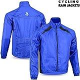 Veste imperméable de cyclisme pour homme Haute visibilité haut de Course imperméable pour femme M à 2x L Bleu Bleu moyen