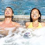 COWIN Schwimmen Wasserdichter Bluetooth Lautsprecher 4.0 Portable Floating Wireless Lautsprecher IPX7 mit 10W tiefen Bässen und farbigen LED-Leuchten
