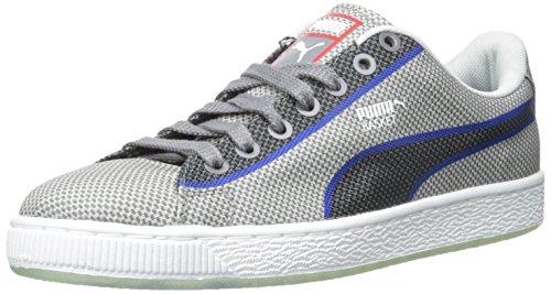 Puma Basket klassische gesponnene Fashion Sneakers Glacier Gray