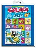 Scarica Libro Coloro gli amici del mare Baby color Ediz illustrata (PDF,EPUB,MOBI) Online Italiano Gratis