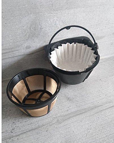 1000x Kaffee-Korbfilter 80/200 für K-Maschinen mit Mahlwerk Beem, Gastroback etc.