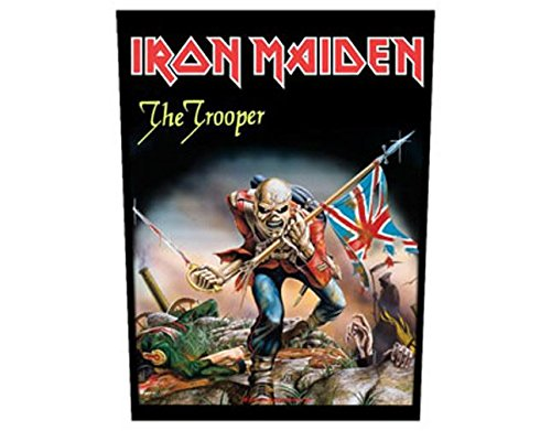 Iron Maiden - The Trooper - Grande Toppa/Patch