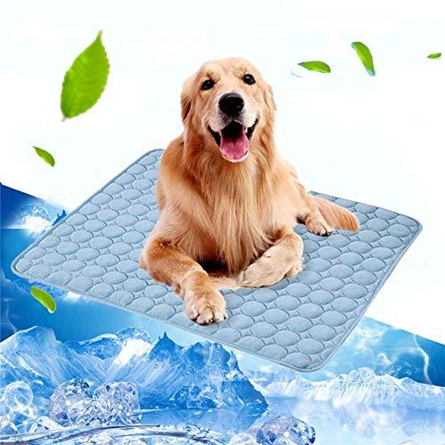 Volwco Selbst Kühlende Hundematte, Kühlmatte Selbstkühlendes Pad Pet Cool Mat Kühlmatte für Haustiere Hunde Katzen Kühlkissen zur Abkühlung in der Sommerhitze für Zuhause unterwegs oder im Auto -