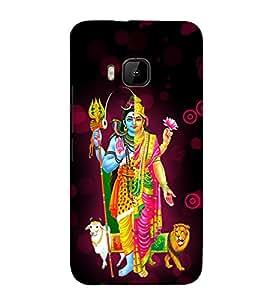 Varada Ardha Nariswara 3D Hard Polycarbonate Designer Back Case Cover for HTC One M9 :: HTC M9 :: HTC One Hima